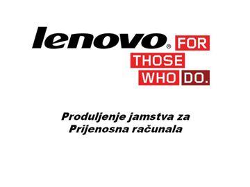 """Prijenosno računalo LENOVO opcija za """"G/S/Flex/Z/B/M"""" seriju 5WS0F98080 - produljenje hardverske podrške u servisnom centru sa 12 na 24 mjeseca, elektronski proizvod"""