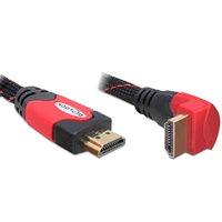 Kabel DELOCK, HDMI (M) na HDMI (M) kutni 90°, 3m