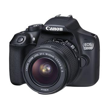 Digitalni fotoaparat CANON EOS 1300D + objektiv EFs18-55 IS II, 18,7 Mpixela, SD, SDHC, SDXC, UHS-I, HDMI