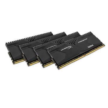 Memorija PC-17066, 16 GB, KINGSTON HX421C13PBK4/16 XMP HyperX Predator, DDR4 2133MHz, kit 4x4GB