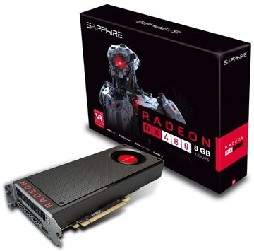 Grafička kartica PCI-E SAPPHIRE AMD RADEON RX 480, 8GB DDR5, HDMI, DP