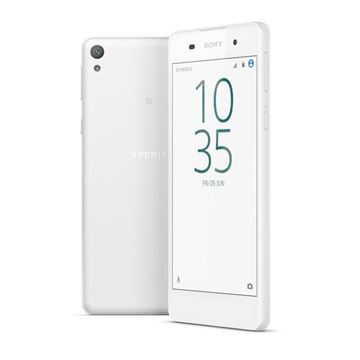 "Smartphone SONY Xperia E5 White, 5"" IPS multitouch, QuadCore MediaTek MT6735 1.3GHz, 1.5GB RAM, 16GB Flash, MicroSD, 4G/LTE, BT, GPS, 2x kamera, Android 6.0, bijeli"
