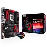 Matična ploča ASUS B150 PRO GAMING/AURA, DDR4, Intel B150, DDR3, zvuk, SATA, PCI-E 3.0, M.2, D-Sub, HDMI, USB 3.1, ATX, s.1151