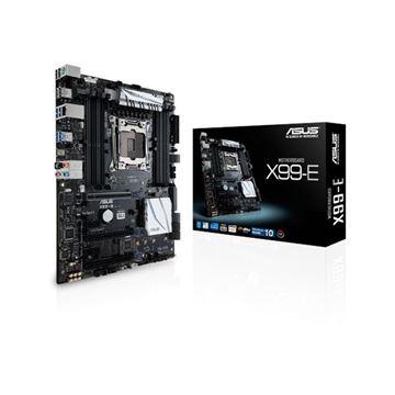 Matična ploča ASUS X99-E, Intel X99, DDR4, zvuk, G-LAN, SATA, RAID, PCI-E 3.0, M.2, USB 3.1, ATX, s. 2011-v3