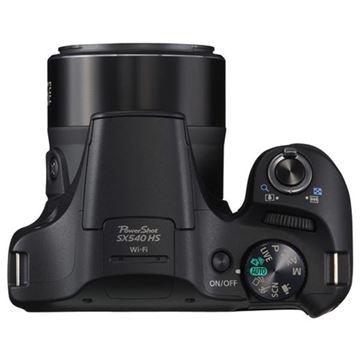 Digitalni fotoaparat CANON Powershot SX540HS BK, 20.3 Mpixela, 50x optički zoom, SD, SDHC, SDXC, LCD, HDMI, crni