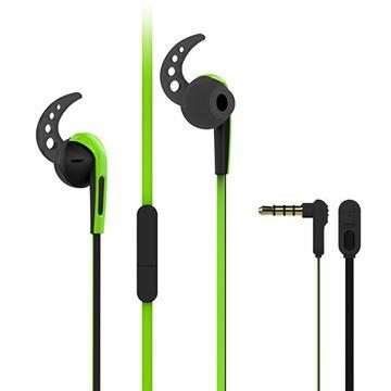 Slušalice VIVANCO Sport SPX 40, s mikrofonom, zelene
