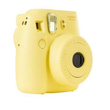 Analogni fotoaparat FUJI FILM Instax mini 8, 62x46 mm slike, automatski flash, žuti