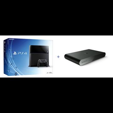 Igraća konzola SONY PlayStation 4, 500GB, C Chassis + PlayStation TV / PS TV Voucher 3 Vita Games + Gamepad bežični, Magma crveni