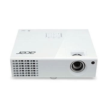 Projektor DLP, ACER X152H, 1920 x 1080, 3000 ANSI lumena, 10000:1, HDMI, 3D, zvučnik, USB, bijeli + platno