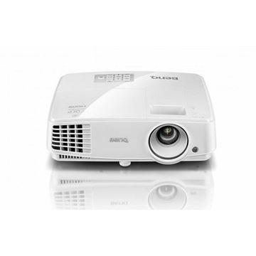 Projektor DLP, BENQ MS517H, 800 x 600, 3300 ANSI lumena, 13000:1, D-Sub, HDMI, USB, zvučnici, bijeli