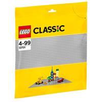 LEGO 10701, Classic, Gray Baseplate, siva podloga