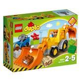 LEGO 10811, Duplo, Backhoe loader, bager s utovarivačem