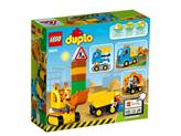 LEGO 10812, Duplo, Truck & Tracked Excavator, kamion i bager gusjeničar