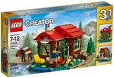 LEGO 31048, Creator, Lakeside Lodge, koliba pokraj jezera, 3u1