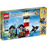 LEGO 31051, Creator, Lighthouse Point, svjetionik, 3u1