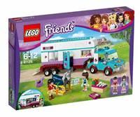 LEGO 41125, Friends, Horse Vet Trailer, prikolica veterinara za konje