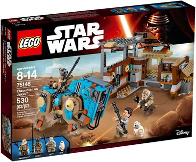 LEGO 75148, Star Wars, Encounter on Jakku, susret na Jakkuu