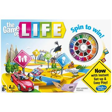 Društvena igra HASBRO Igra života (The Game of Life)