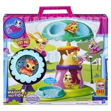 Igračka HASBRO A5122, Littlest Pet Shop, Playtime Park, igralište za ljubimce, set