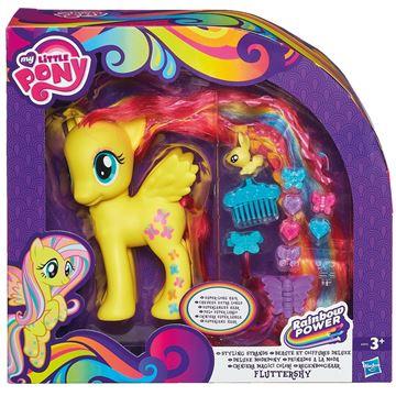 Igračka HASBRO A5933, My Little Pony, Styling Strands Fashion Pony, Fluttershy figurica