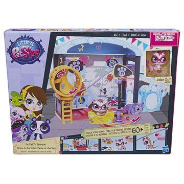 Igračka HASBRO B0249, Littlest Pet Shop, Fun Park Style, zabavni park, set