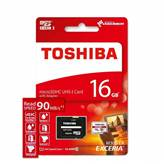 Memorijska kartica TOSHIBA, Micro SDXC, 16 GB, class 10 UHS-I Exceria M302 + adapter