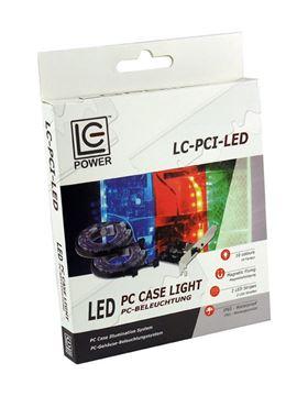 LED osvjetljenje LC POWER LC-PCI-LED, LED - PC Illumination, 10 boja, 2xstrip sa 18 LED lampica
