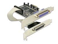 Kontroler PCI, DELOCK, paralelni DB25 (Ž) i zasebni paralelni DB25 (Ž)