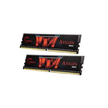 Memorija PC-17066, 8 GB, G.SKILL Aegis, F4-2400C15D-8GIS, DDR4 2133MHz, kit 2x4GB