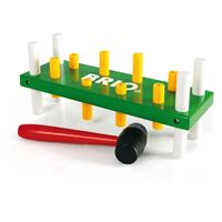 Drvena igračka BRIO 30516, Pounding Bench, klupica za udaranje