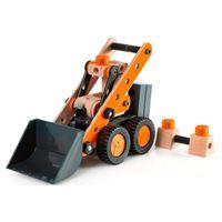 Drvena igračka BRIO 34572, Compact Loader, kompaktni utovarivač, 83 komada