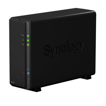 "Eksterno kućište SYNOLOGY DS116 DiskStation 1-bay NAS server, 2.5""/3.5"" HDD/SSD podrška, USB 3.0, 1GB, Dual Core 1.8 GHz, G-LAN"