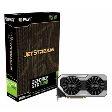 Grafička kartica PCI-E PALIT GeForce GTX 1060 JetStream, 6GB, DDR5, DVI, HDMI, DP