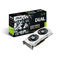 Grafička kartica PCI-E ASUS GeForce GTX 1070 Dual, 8GB, DDR5, DVI, HDMI, DP