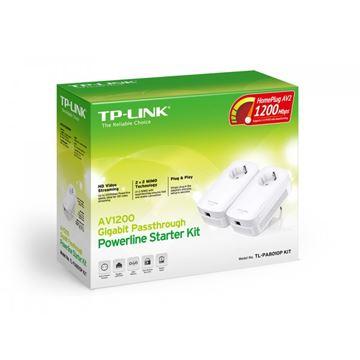Powerline adapter TP-LINK AV1200 TL-PA8010K KIT, mreža putem strujnog kabela, 2x2 MIMO, G-Lan, duplo pakiranje