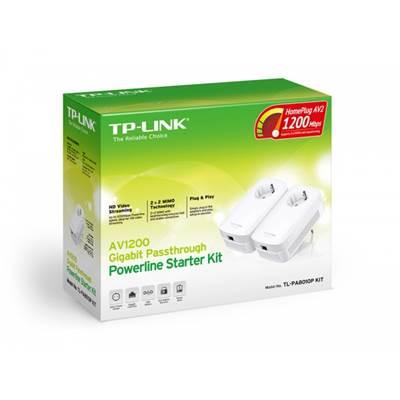 Powerline adapter TP-LINK AV1200 TL-PA8010 KIT, mreža putem strujnog kabela, 2x2 MIMO, G-Lan, duplo pakiranje