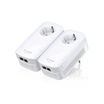 Powerline adapter TP-LINK AV1000 TL-PA7020K KIT, mreža putem strujnog kabela, 2x2 MIMO, G-Lan, duplo pakiranje