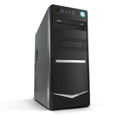 Računalo LINKS Xenon 125IX WIN / Intel Celeron G1840 (2.8GHz), 4GB, 1000GB, DVDRW, Intel HD Graphics, Antivirusna zaštita, Windows 10
