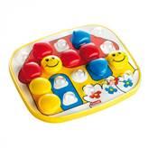 Igračka QUERCETTI 4405, FantaColor Baby Basic, slaganje mozaika