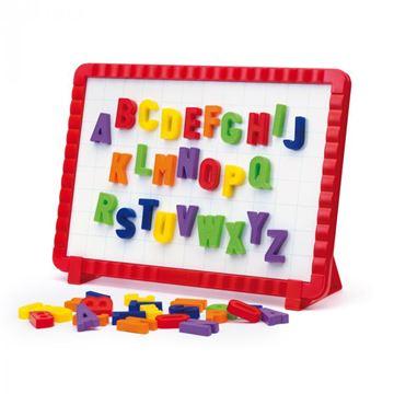 Kreativni set QUERCETTI 5181, Magnetino Letters, magnetna slova sa pločom, 48 komada