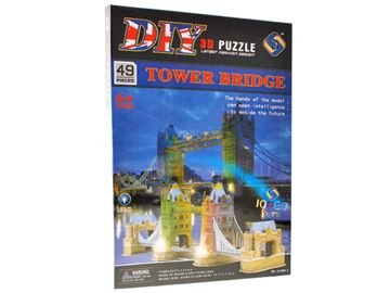 3D slagalica DIY ZA1106, Tower Bridge