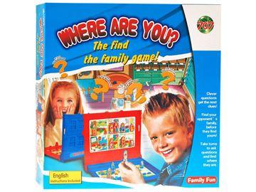Društvena igra 707 GR0148, Pogodi gdje si? (Where Are You?)