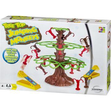 Društvena igra SAMBRO, Skakutavi majmuni (Tree Top Jumping Monkeys)
