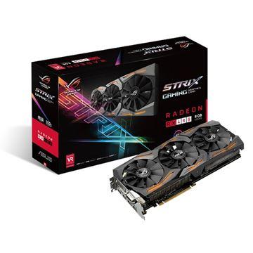 Grafička kartica PCI-E ASUS ROG AMD RADEON RX 480 Strix Gaming, 8GB DDR5, HDMI, DVI, DP