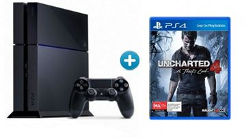 Igraća konzola SONY PlayStation 4, 500GB + Uncharted 4: A Thief's End