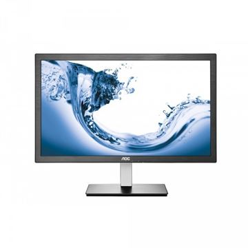 "Monitor 23.6"" LED AOC E2476VWM6, 1ms, 250cd/m2, 50.000.000:1, D-Sub, HDMI, sivi"