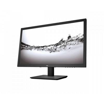 """Monitor 24"""" LED AOC E2475SWJ, 2ms, 250cd/m2, 20.000.000:1, D-Sub, DVI, HDMI, zvučnici, crni"""