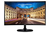 "Monitor 24"" LED SAMSUNG LC24F390FHUX, 4ms, 250cd/m2, 3.000:1, D-Sub, HDMI, Curved, crni"