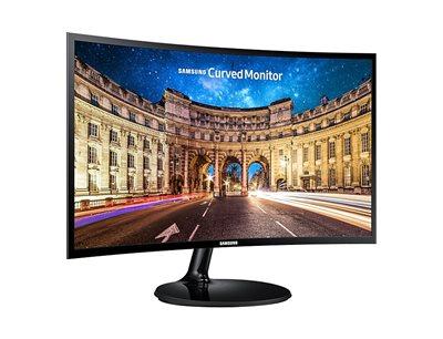 "Monitor 27"" LED SAMSUNG LC27F390FHUX, 4ms, 250cd/m2, 3.000:1, D-Sub, HDMI, Curved, crni"