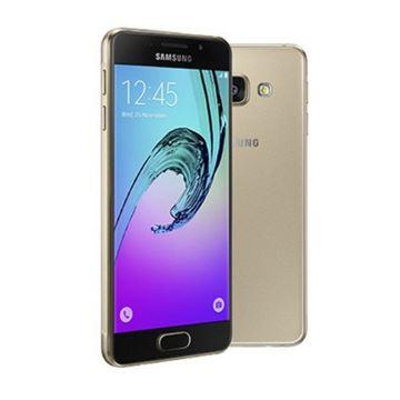 "Smartphone SAMSUNG Galaxy A3 A310F, 4.7"" Super AMOLED touchscreen, QuadCore Cortex A53 1.5GHz, 1,5GB RAM, 16GB Flash, 4G LTE, BT, 2x kamera, Android 5.1.1, zlatni"